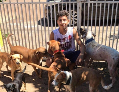 17-latek otworzył schronisko dla psów. Uratował ponad 20 zwierząt