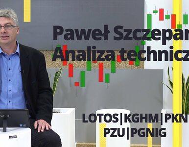 Paweł Szczepanik przedstawia: LOTOS, KGHM, PKN, PZU, PGNIG | Analiza...