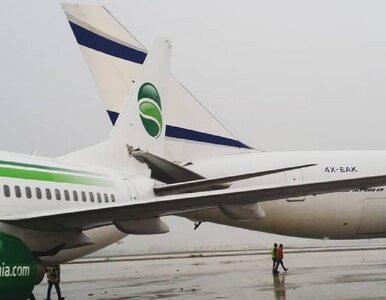 Samoloty pasażerskie zderzyły się na lotnisku w Tel Awiwie
