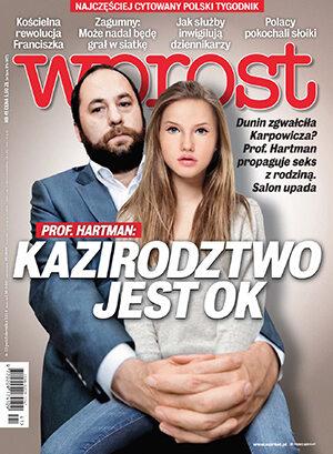 Okładka tygodnika Wprost nr 41/2014 (1649)
