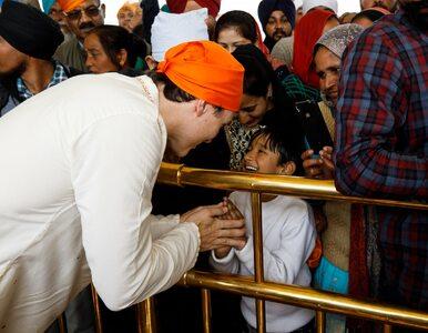 Wizyta Justina Trudeau w Indiach