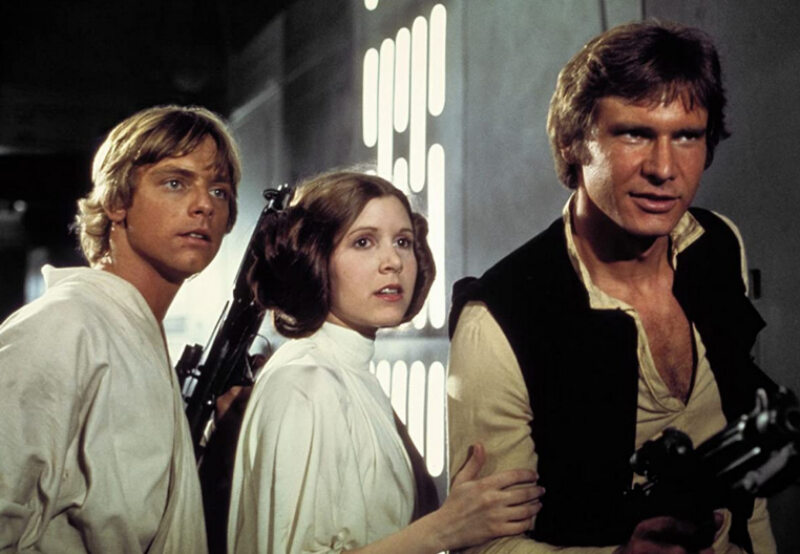 """""""Gwiezdne wojny: Część IV – Nowa nadzieja"""" (1977)"""