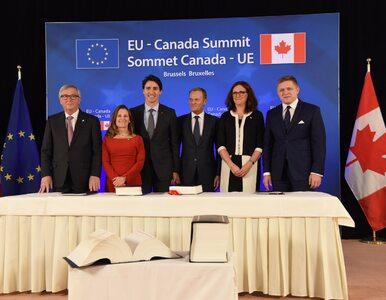 Umowa CETA podpisana. Porozumienie handlowe stało się faktem