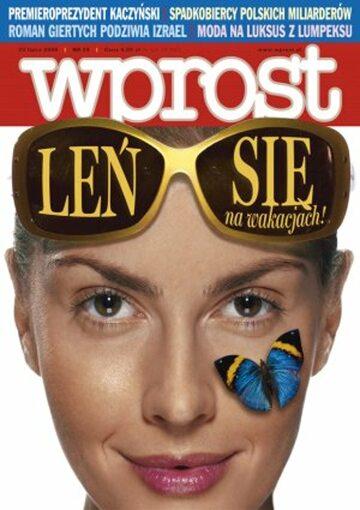 Okładka tygodnika Wprost nr 29/2006 (1232)