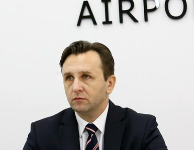 Lotnisko Chopina bez prezesa. Michał Kaczmarzyk złożył rezygnację