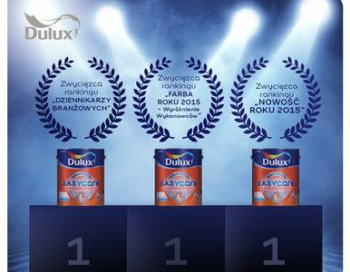 Ranking Farba Roku 2015 - deszcz nagród dla Dulux EasyCare!