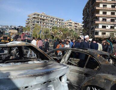 Zamach na premiera Syrii, eksplozja w Damaszku
