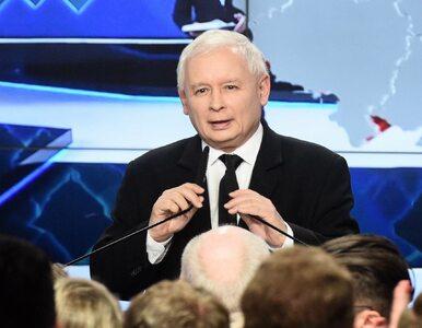 Kaczyński zadowolony z sondażowych wyników. Co powiedział prezes PiS?