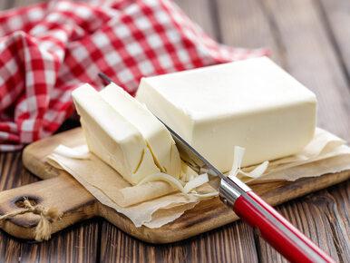 Dlaczego masło tak gwałtownie drożeje? Minister wyjaśnia