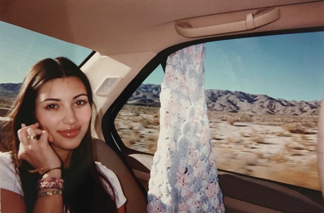 Kim Kardashian w wieku 18 lat