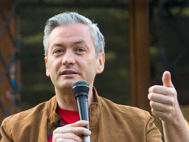 """Robert Biedroń tworzy projekt polityczny. """"Jestem gotowy na wyzwanie"""""""
