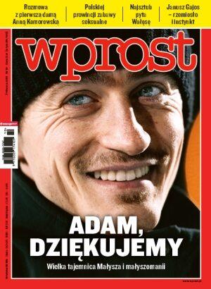 Okładka tygodnika Wprost nr 10/2011 (1465)