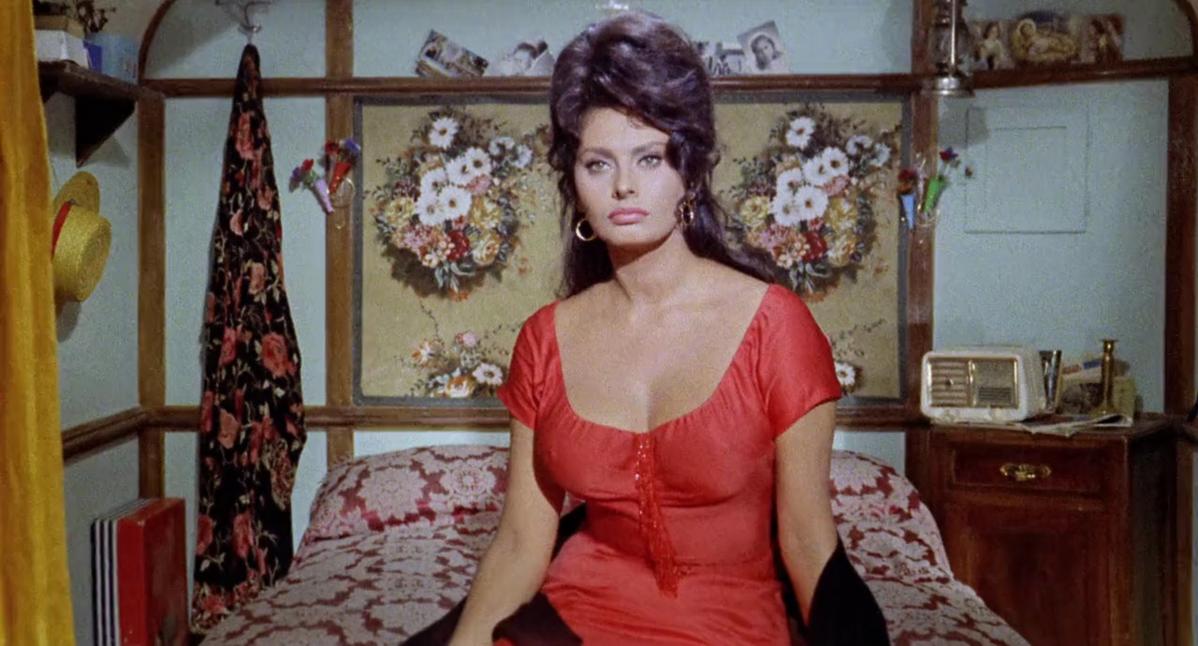 """Sophia Loren w filmie """"Boccaccio '70"""" (1962)"""