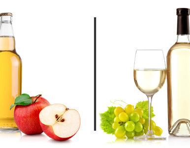 Cydr czy białe wino? Który alkohol ma mniej kalorii?