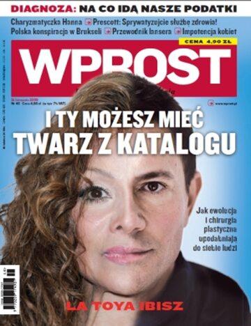 Okładka tygodnika Wprost nr 48/2009 (1401)