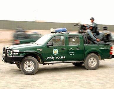 Afgańscy policjanci zginęli w zamachu