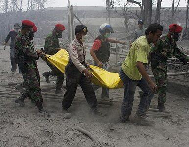 Tragiczne skutki wybuchu wulkanu w Indonezji