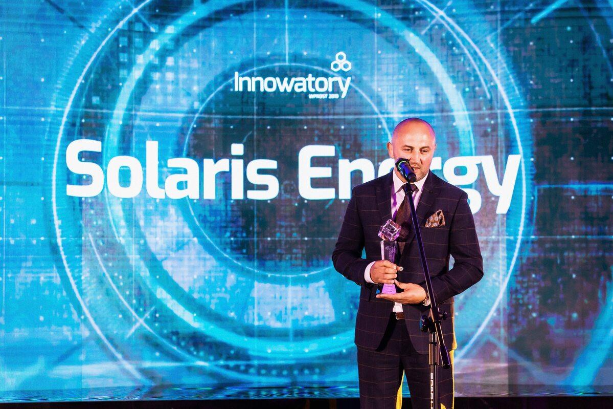 Włodzimierz Robaszek Włodzimierz Robaszek – Dyrektor Generalny Solaris Energy