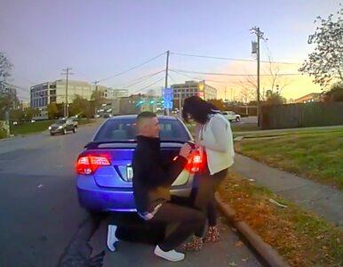 Oświadczył się podczas policyjnej kontroli drogowej