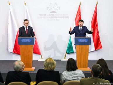 Prezydent z wizytą na Węgrzech. Przyjaźń polsko-węgierska uchwycona na...