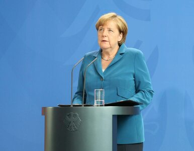 Prasa i koalicyjni politycy krytykują Angelę Merkel