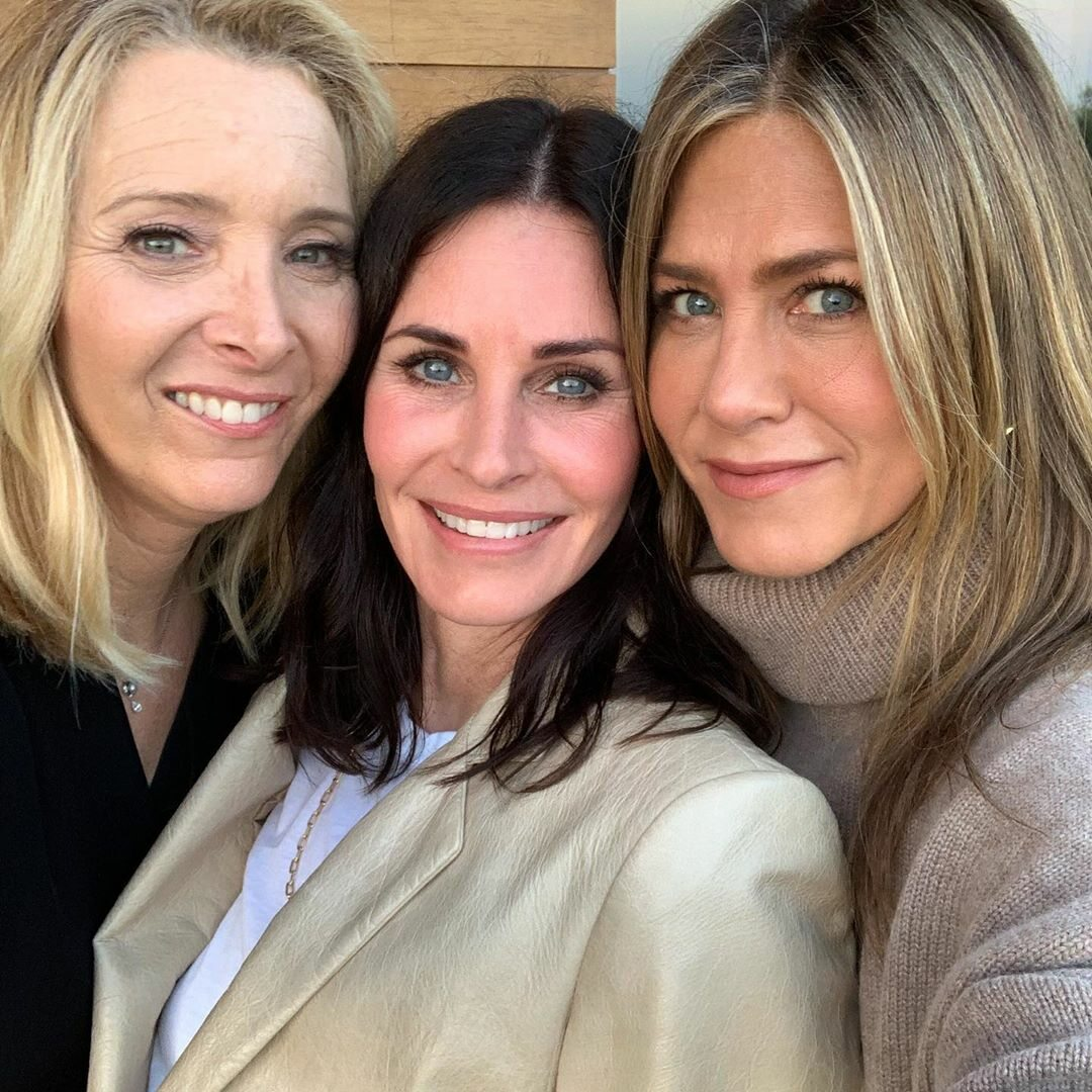Lisa Kudrow, Courtney Cox i Jennifer Aniston