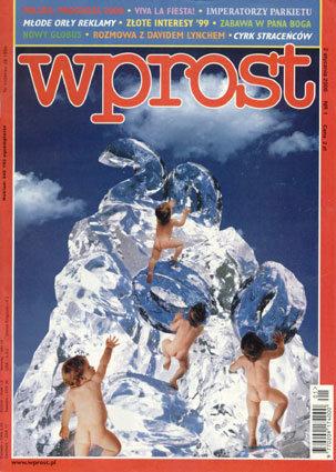 Okładka tygodnika Wprost nr 1/2000 (892)