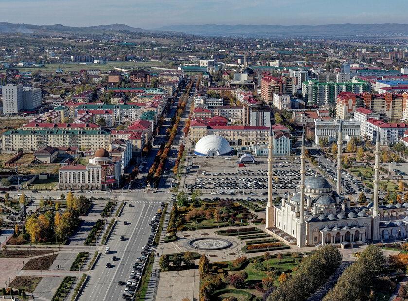Stolica Czeczenii - Grozny