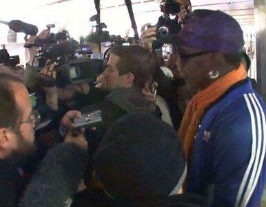 Rodman rozmawiał z dziennikarzami. Rozpłakał się
