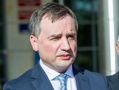 Zbigniew Ziobro złożył wniosek o uchylenie immunitetu posła PiS