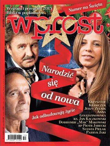 Okładka tygodnika Wprost nr 52/2015 (1717)