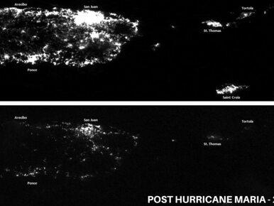 """""""Portoryko ma poważne kłopoty"""". Zdjęcia z satelity potwierdzają słowa..."""