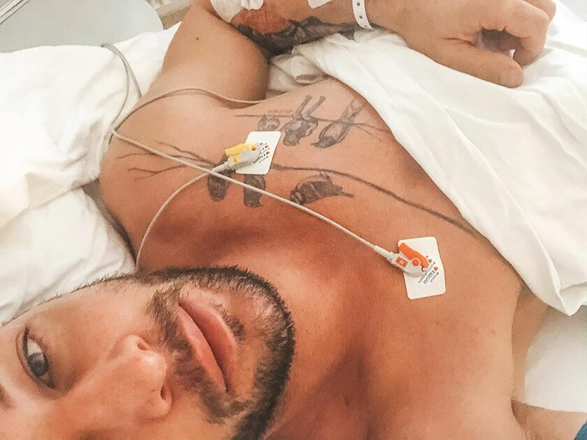 Leszek Stanek w szpitalu