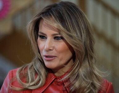 Melania Trump zabrała głos w sprawie pandemii koronawirusa. Padły...
