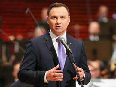 """Andrzej Duda wygłosił orędzie przed Zgromadzeniem Narodowym. """"Ducha..."""