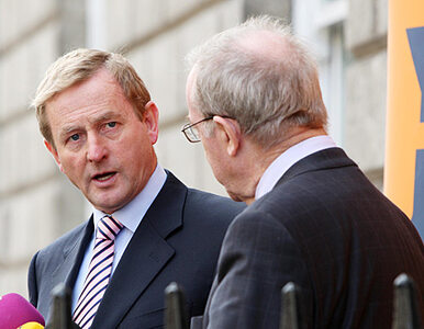 Irlandzki minister musiał polecieć tanimi liniami