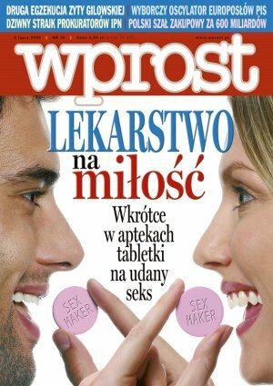 Okładka tygodnika Wprost nr 26/2006 (1229)