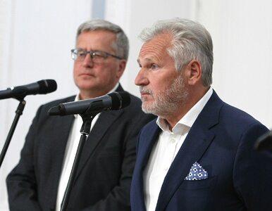 """Kwaśniewski i Komorowski deklarują, na kogo oddadzą głos. """"Ten wybór..."""