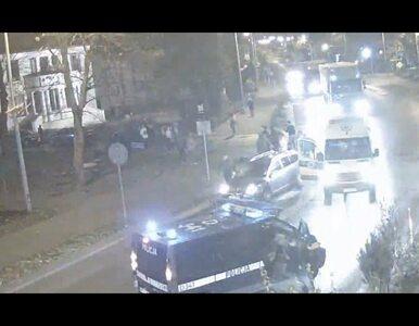 Nastolatka wbiegła prosto pod samochód. Kamera monitoringu nagrała...