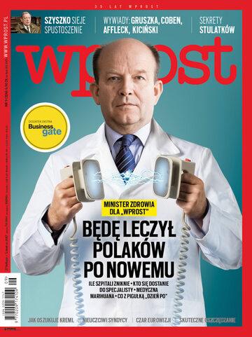 Okładka tygodnika Wprost nr 9/2017 (1776)