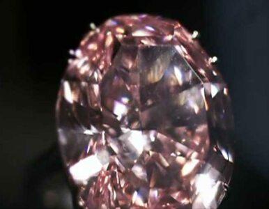 Różowy diament sprzedany za 76 milionów funtów