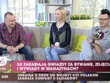 """Ile zarabiają gwiazdy? """"Polski showbiznes to bieda"""""""