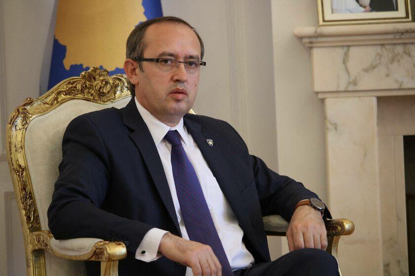 Premier Kosowa Avdullah Hoti