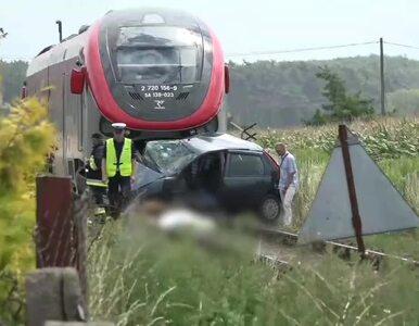Wjechał autem pod szynobus. 72-latek nie żyje