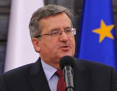 Komorowski: PKB Polski w 2012? Wzrośnie o 2,5-3 procent
