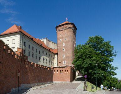 """Wyświetlali """"Tylko nie mów nikomu"""" na murach Wawelu. Interweniowała policja"""