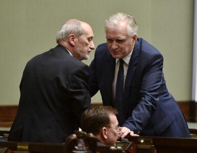 """Gowin sprzeciwił się Macierewiczowi. """"Minister zmodyfikował swój postulat"""""""