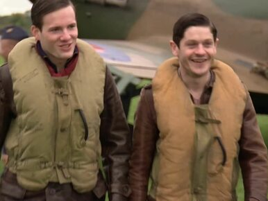 Brytyjczycy kręcą film o Dywizjonie 303. Unikalne zdjęcia z planu