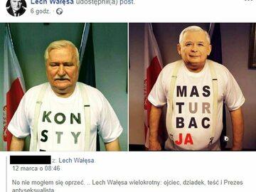 Niepokojąca aktywność na Facebooku Lecha Wałęsy. Były prezydent...