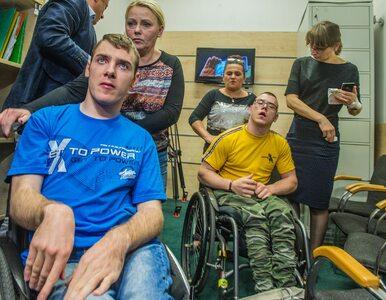 Marszałek Sejmu nie zezwolił niepełnosprawnym na wyjście na spacer?